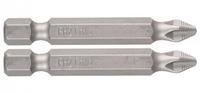 """Биты ЗУБР """"МАСТЕР"""" кованые, хромомолибденовая сталь, для винтов Phillips, тип хвостовика E 1/4"""""""