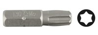 """Биты ЗУБР """"МАСТЕР"""" кованые, хромомолибденовая сталь, для винтов TORX, тип хвостовика C 1/4"""""""