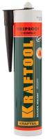 Герметик KRAFTOOL KRAFTFLEX FR150 силикатный огнеупорный, черный, 300мл