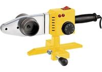 Аппарат для сварки пластиковых труб DWP-1500, 1500Вт, 260-300 град.компл насадок,20 - 63 мм DENZEL