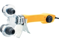 Аппарат для сварки пластиковых труб DWP-750, 750Вт, 260-300 град.,компл насадок, 20 - 40 мм DENZEL