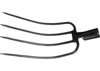 Вилы 4-х-рогие, 235 х 330 мм, без черенка сенные СИБРТЕХ