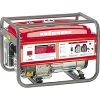 Генератор бензиновый KB 5000, 5,0 кВт, 220В/50Гц, 25 л, ручной старт KRONWERK
