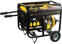 Генератор дизельный DD5800Е, 5 кВт, 220В/50Гц, 12.5 л, электростартер DENZEL