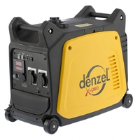 Генератор инверторный GT-3500i, X-Pro 3,5 кВт, 220В,цифровое табло, бак 7,5 л, ручной стартDENZEL