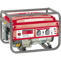 Генератор инверторный LK 2500i, 2,5 кВт, 220В, бак 5,7 л, ручной старт KRONWERK