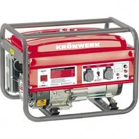 Генератор инверторный LK 900i, 0,9 кВт, 220В, бак 2,1л, ручной старт KRONWERK