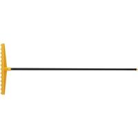 Грабли 13-зубые полипропиленовые с ребрами жесткости с металлическим черен, усиленные PALISAD LUXE