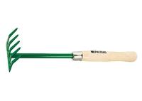 Грабли 5-зубые, 90 мм, деревянная рукоятка 340 мм PALISAD