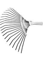 Грабли веерные 20 зубьев, без черенка, оксидированные, плоский зуб СИБРТЕХ Россия