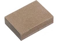 Губка для шлифования, 125 х 100 х 10 мм, мягкая, 3 шт., P 60/80, P 60/100, P 80/120 MATRIX