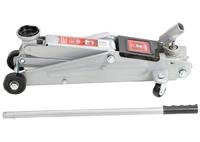 Домкрат гидравлический подкатный MATRIX, 3 т, h подъема 130–410 мм, поворотная ручка