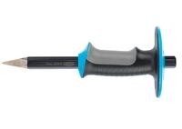 Зубило-керн GROSS, трехкомп. эргоном. рукоятка, защитный протектор, антикоррозийное покрытие