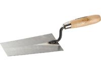 Кельма отделочника стальная, деревянная ручка SPARTA