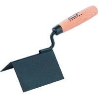 Кельма угловая, стальная, для внешних углов, буковая ручка СИБРТЕХ