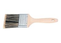 Кисть плоская Golden, искусственная щетина, деревянная ручка MATRIX