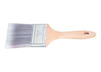 Кисть плоская Platinum, искусственная щетина, деревянная ручка MATRIX