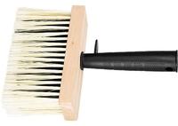 Кисть-макловица, искусственная щетина, деревянный корпус, пластмассовая ручка MATRIX