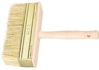 Кисть-ракля, натуральная щетина, деревянный корпус, деревянная ручка, Россия
