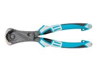 Клещи GROSS торцевые усиленные с рычажным механизмом, трехкомпонентные рукоятки, 200 мм.