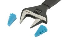 Ключ разводной GROSS, CrV, тонкие губки, защитные насадки