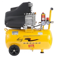 Компрессор воздушный PC 1/24-205 1,5 кВт, 206 л/мин, 24 л DENZEL
