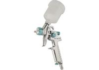 Краскораспылитель AG 810 HVLP, гравитационный, сопло 0,8 мм и 1 мм Stels