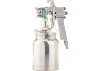 Краскораспылитель AS 702 НP профессиональный, всасывающего типа, сопло 1,8 мм и 2,0 мм Stels