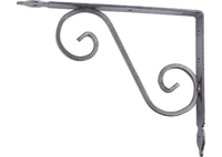 Кронштейн декоративный, темно-серый СИБРТЕХ