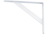 Кронштейн усиленный, белый СИБРТЕХ