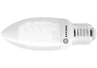 Лампа компактная люминесцентная свечка, 9W, 2700K, E27, 8000ч., Stern