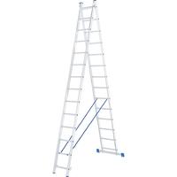Лестница алюминиевая, двухсекционная СИБРТЕХ Pоссия