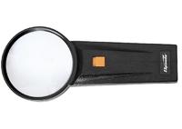Лупа 2,5-кратная, D 75 мм, с подсветкой, с рукояткой SPARTA