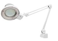 Лупа с подсветкой 3-х кратная, D 125 мм, со струбцинным креплением к столуMATRIX