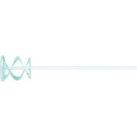 Миксер для красок и штукатурных смесей,оцинкованный, шестигранный хвостовик 8 мм, MATRIX