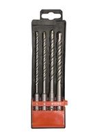 Набор буров по бетону, 5-6-8-10х160 мм, 4 шт., в пласт. коробке, SDS PLUS MATRIX