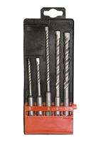 Набор буров по бетону, 5-6х110, 6-8-10х160 мм, 5 шт., в пласт. коробке, SDS PLUS MATRIX