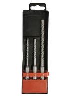 Набор буров по бетону, 5х110, 6х110, 8х160 мм, 3 шт., в пласт. коробке, SDS PLUS MATRIX