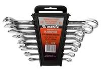 Набор ключей комбинированных MATRIX, CrV, полированный хром