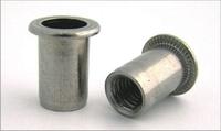 Заклепка гаечная стальная, стандартный бортик