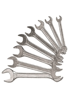 Набор ключей рожковых SPARTA, хромированные