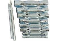 Набор ключей-трубок торцевых SPARTA, 6 х 22 мм, вороток, оцинкованные, 10 шт.
