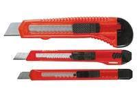 Набор ножей, выдвижные лезвия, 9-9-18 мм, 3 шт. MATRIX