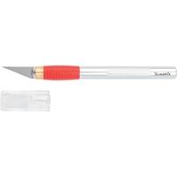 Нож для дизайнерских работ, двухкомпонентная рукоятка + 5 запасных лезвийMATRIX