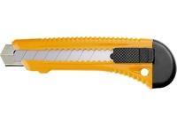 Нож,18 мм, выдвижное лезвие, металлическая направляющая SPARTA