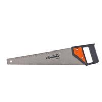 Ножовка по дереву SPARTA, каленый зуб, линейка, пластиковая рукоятка