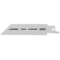 Полотно STAYER для сабельной эл. ножовки Bi-Met,тонколистовой, профильный металл, нерж. сталь, цветн