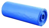 Пакеты для мусора с завязками 35л*20шт синиеElfe