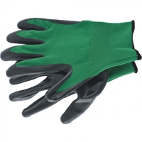 Перчатка с чёрным нитрильным покрытием, стойкая к маслу и бензину, L, 15 класс вязки Palisad