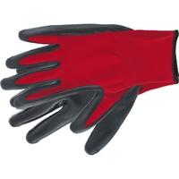 Перчатка с чёрным нитрильным покрытием, стойкая к маслу и бензину, L, 15 класс вязки Stels